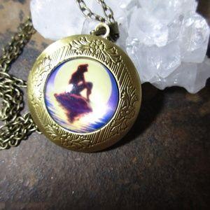 Jewelry - Ariel Disney princess bronze pendant locket 994